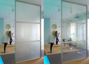 """""""Умное стекло"""" в дизайне современной квартиры, что это такое"""