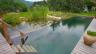 Vrste vještačkih akumulacija: dinamičan rezervoar, statičkoj tijelo vode, kaskadno bare, slapove, opruge, fogtany, ribnjak i močvara. Stavite ispod jezera.