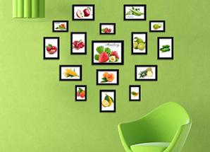 Cadres photo à l'intérieur: les types de cadres photo, matériaux pour les cadres photo, multi-cadres pour les photos.