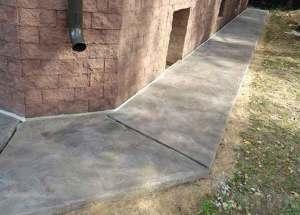 Отмостка вокруг дома из бетона: зачем нужна отмостка, стоимость отмостки вокруг дома, размеры отмостки, как сделать отмостку вокруг дома из бетона (пошагово).