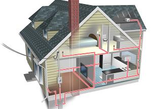 Схема электропроводки частного дома. Как правильно сделать электропроводку своими руками