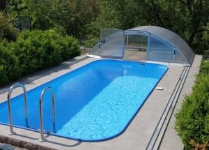 Каркасный бассейн или стационарный? Как выбрать бассейн для дачи: по размеру, форме, каркасный или стационарный?