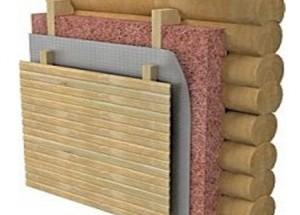 Утепляем бревенчатый дом, как правильно это сделать, материал для утепления