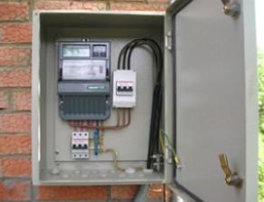 Električna zaštita privatne kuće: vrste električnih panela, dizajn električnih centrala, električni dijagram ožičenja.