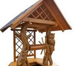 Kuća za bunar, s vlastitim rukama gradimo kuću za bunar, korak po korak
