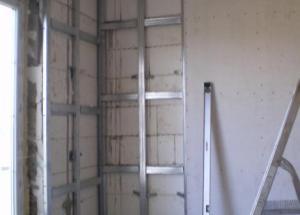 Подготовка стен квартиры к отделке гипсокартоном