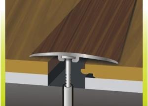 Wie man dekorative Schwellen für die Gestaltung von Fugen verschiedener Bodenbeläge auswählt und verwendet
