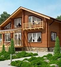 Дом из клеенного бруса: достоинства и недостатки, технология строительства, возведение фундамента, стен, стропильной системы.