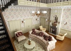 Kako pravilno napraviti dnevnu sobu u stilu Provanse