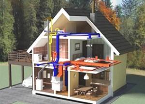 Газовая котельная частного дома: требования к помещению газовой котельной, вентиляция газовой котельной, подбор дверей, расчет мощности газового котла. Электроснабжение частной котельной и врезка в газовую магистраль.