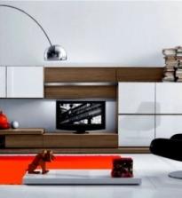 Виды корпусной мебели: фото, для гостиной, шкафы разного вида, угловые шкафы, встроенные шкафы, современные стили.