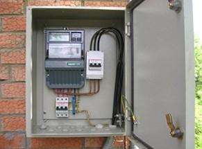 Electroshield rumah pribadi: jenis panel listrik, desain switchboard listrik, diagram pengkabelan listrik.