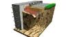 Teisingas aklas aplink namą: matmenų skaičiavimas, skalda. Aklinė teritorija aplink betono namą (žingsnis po žingsnio).