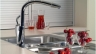 Какой смеситель для кухни лучше выбрать: вентильный, однорычажный, сенсорный, литой или сборный, с лейкой или с изливом.