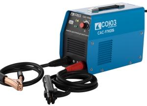 Suvirinimo aparatai tipų ir rūšių: AC transformatorius, srovės, pusiau aparatai Inverter suvirintojas.