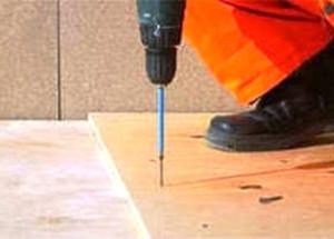Linoleum-Installation von eigenen Händen