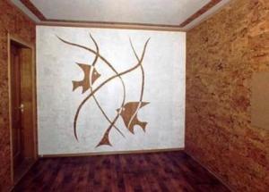Korkas tapetai interjere: kamštienos tapetai nuotrauka, kaip klijais kamštienos tapetai, būdingi kamštinės tapetai, atsiliepimai.