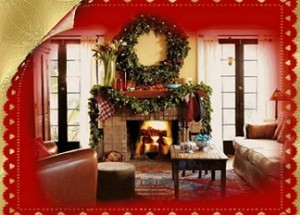 Cara bertemu Natal: mendekorasi rumah pribadi dan plot, cara meliput meja Natal.