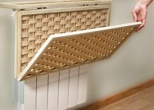 Как облагородить радиаторы отопления в квартире, как сделать это красиво