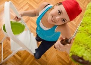 Как правильно перекрасить потолок, если неизвестно чем он был покрашен изначально