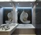 Современные идеи маленькой ванной комнаты