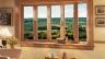 विंडोज घर के लिए डबल-चमकीले खिड़कियों के साथ लकड़ी हैं, खिड़कियों के डबल-ग्लाज़्ड विंडोज प्लास्टिक, खिड़कियों के फायदे और नुकसान वाले खिड़कियां हैं।