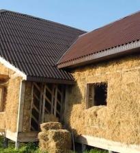 Солом'яні будинки, будуємо будинок з соломи своїми руками