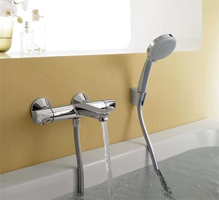 Termostat za kupanje Hansgrohe Ecostat E 13145000, cijena 265 $, kupi u Minsk - Deal.by (ID # 2338964)