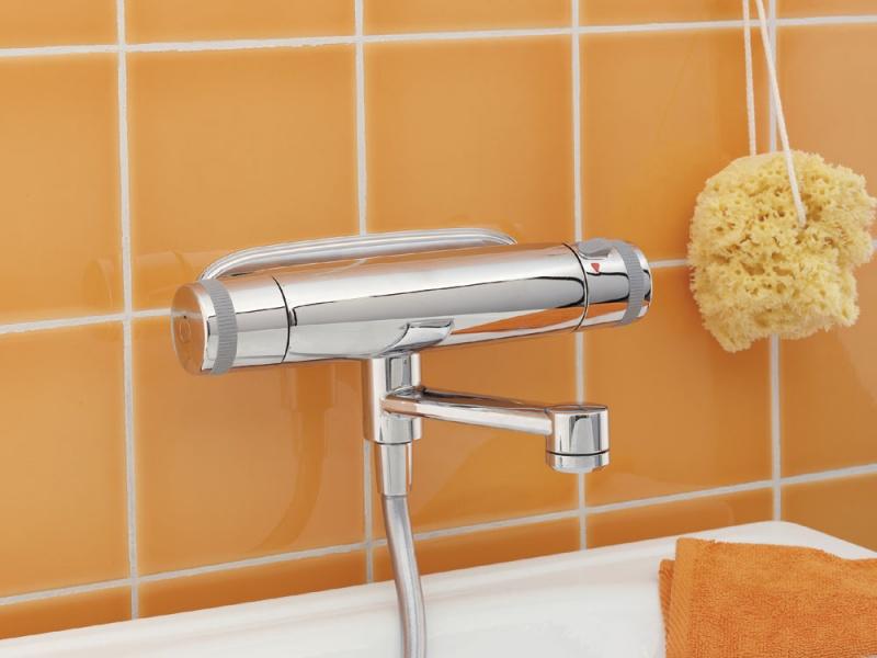 Виды смесителей для ванной с душем