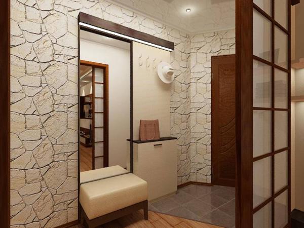 Коридор в маленькой квартире дизайн фото