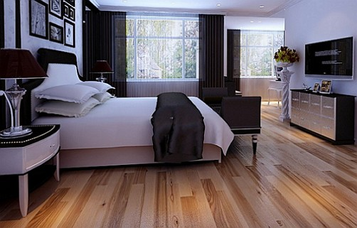 Wood-floor-bedroom-design-by-house-3d-software