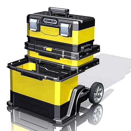удобный ящик на колесах для инструмента всех