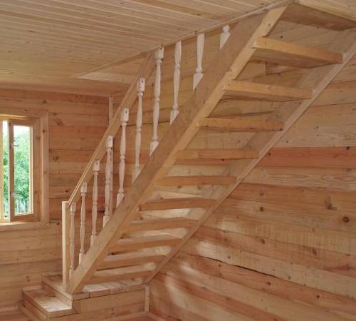 Виды лестниц на мансарду: