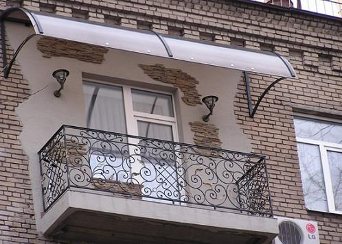 naves नैड balkonom-iz-polikarbotana