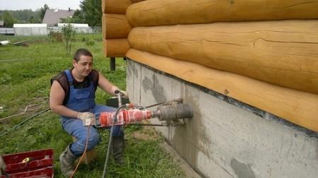 как сделать вентиляцию в доме который построен