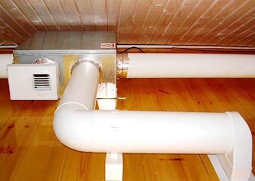 Вытяжная вентиляция своими руками в частном доме