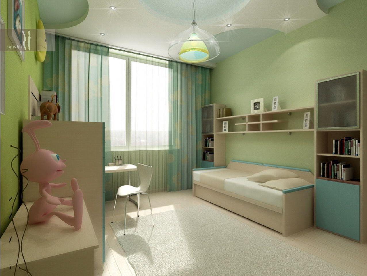 Дизайн зала-детской