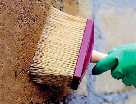 подготовка поверхности бетонной стены