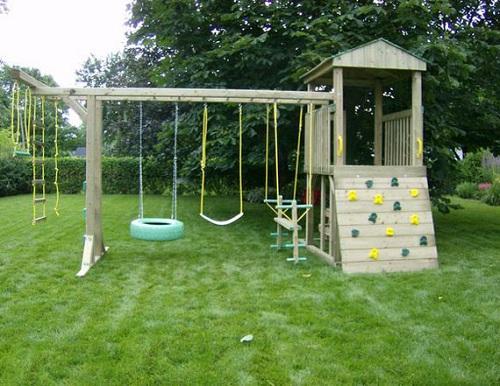 Детские площадки самодельные