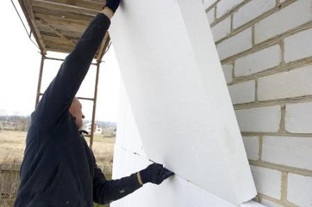 izolacija zidova s plastičnom pjenom