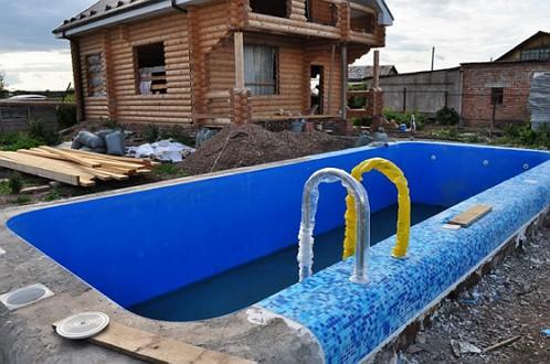Строительство открытого бассейна своими руками