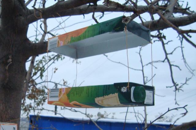 Изготовление кормушек для птиц своими руками фото