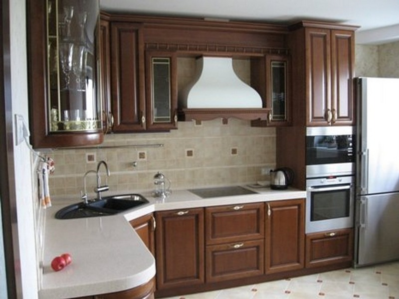 Фото дизайна кухни в классическом стиле