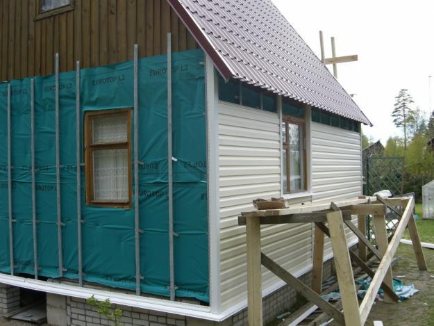 Apdailos dailylentės fasado namai -