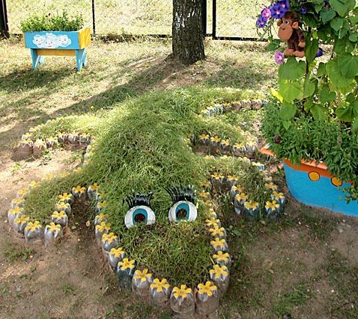 Детская площадка для сада своими руками фото