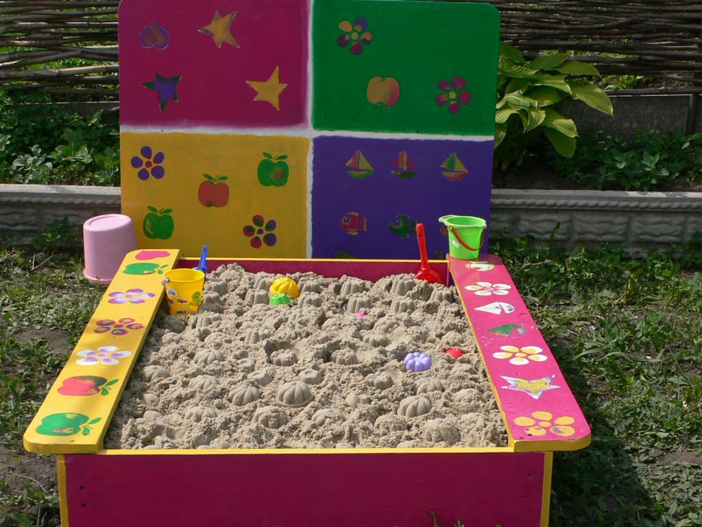 Сделать детскую площадку на даче своими руками фото