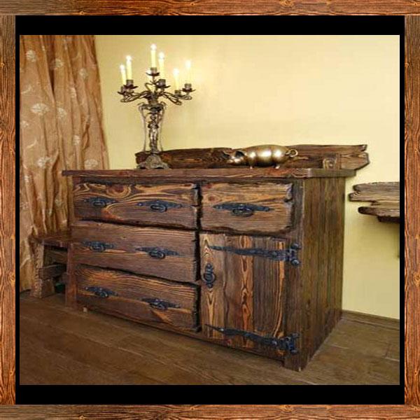 Мебель под старину своими руками из массива дерева
