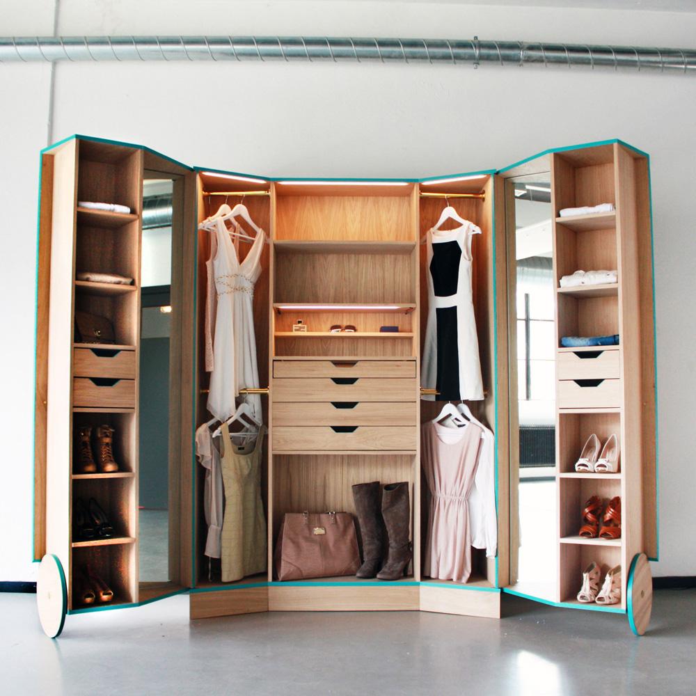 Современная мебель-трансформер в интерьере малогабаритной кв.