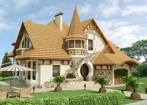 Оформление фасада дома своими руками фото 119