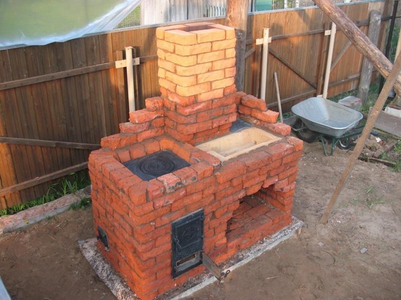 Выложить печь на даче